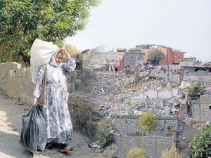 Dîmenên Şirnexa wêran