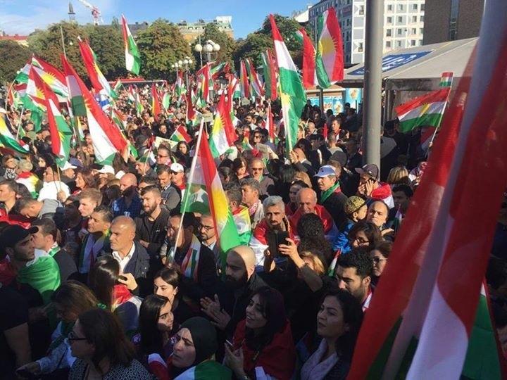 Stockholm 16/9/17 Serxwebûna Kurdistanê 1