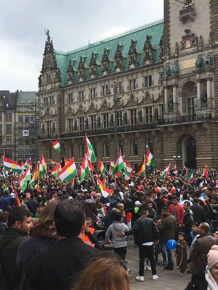 Hamburg 16/9/17 Serxwebûna Kurdistanê wêneyê galeriya 1