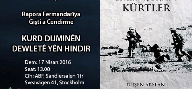 """Semîner: """"Kurd dijminê dewletê yên hundir"""""""