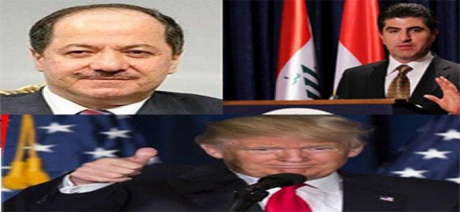 Barzanî, Trump vexwend Kurdistanê