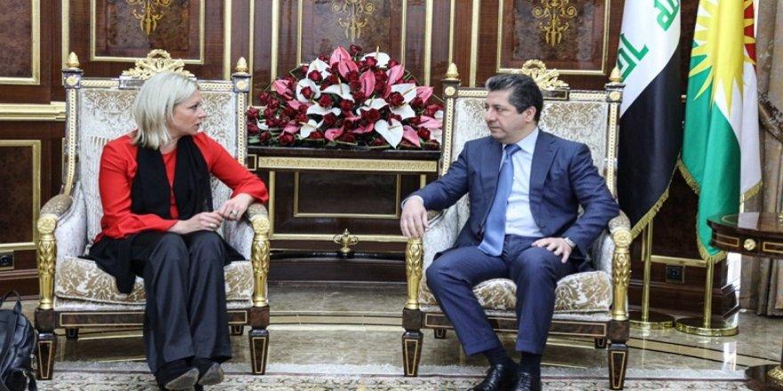 Mesrûr Barzanî û Nûnera Sekreterê Giştî yê NY dawî pêşhatên Iraqê guftûgo kirin