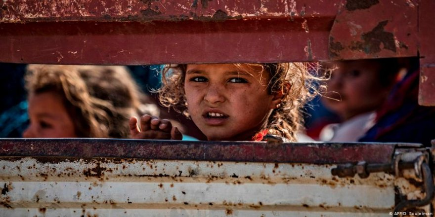 NY: Li Sûrîyeyê 5 milyon zarok winda ne