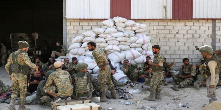 2400 çekdarê opozîsyonê Sûriya resay Lîbya