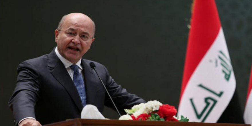 Barham Salih ji alîyên Iraqî dixwaze xwe yekalî bikin