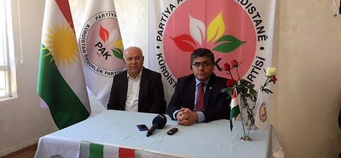 Serokê Giştî yê PAKê:''Guhertinên destûrê, mixabin dîsa Kurdan tune dihesibîne''