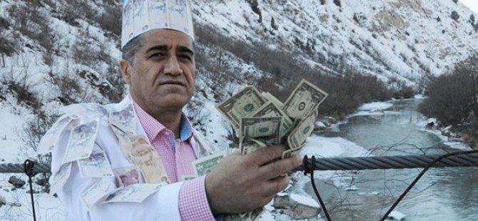 Stranbêjê Kurd ê Çolemergî dolarên xwe avêt rûbara Zapê