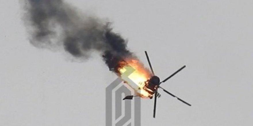Tirkîyê helîkoptereke Sûrîyê xist xwarê!