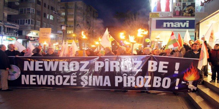 PAK: Adirê Newroze Mijdane û Hêvîya Azadî yo