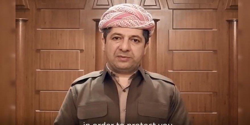 Serokwezîr peyamek arasteyî welatîyên herêma Kurdistanê kir