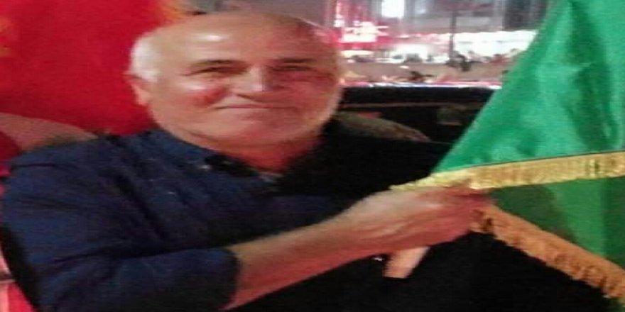 Ozçelîk: Ez bi wefata  welatperwerê Kurd , hevalê hêja  kek Vakkas Çelik gelekî xemgînim