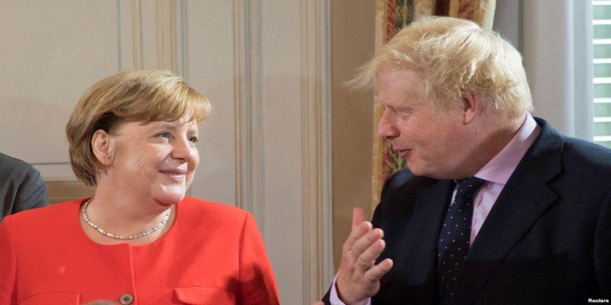 Merkel û Johnson keyeyanê xo de karê Hukmatî kenê
