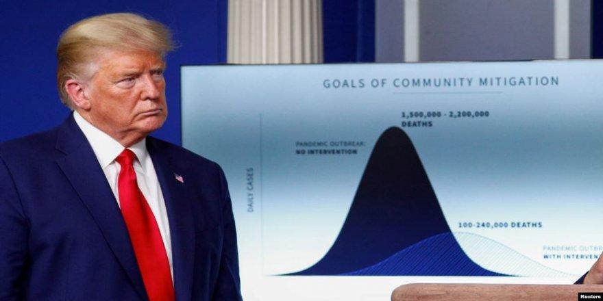 Trump Bang li Hemwelatîyên Amerîkî Dike ku bo Du Sê Hefteyên Pêş Hazirîyên Xwe Bikin