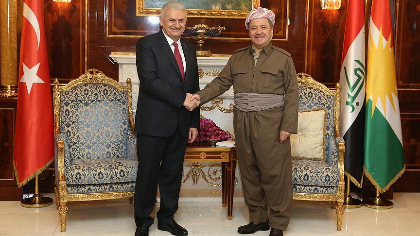 Barzanî: Tirkiye piştgirîya Kurdistanê dike