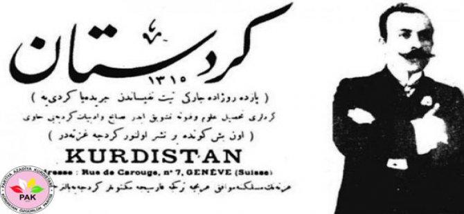 """""""22yê Nîsanî Roja Rojnamegereya Kurdî Pîroz Bo"""""""