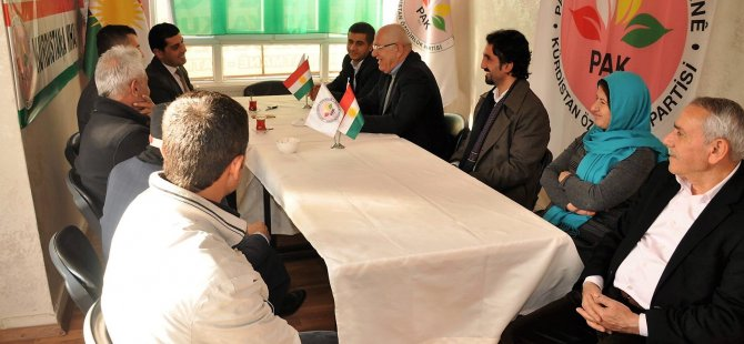 Êlih: Awûqat û sîyasetmedarên kurd hevdîtin!