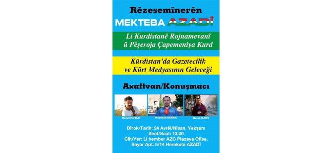 Li Kurdistanê rojnamevanî