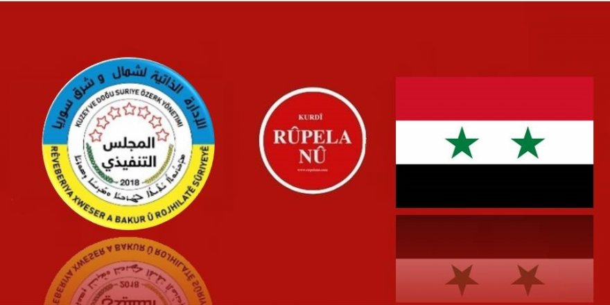 Rêveberîya Xweser: Sûrîyê dîyalog red kir