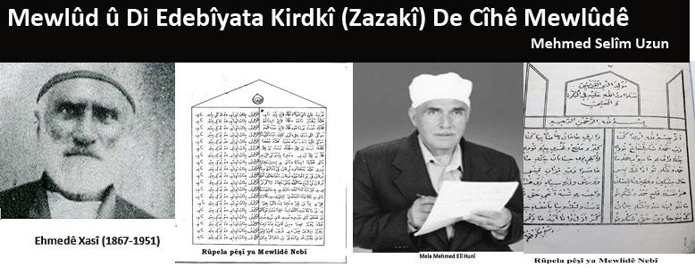 Mewlûd û Di Edebîyata Kirdkî (Zazakî) De Cîhê Mewlûdê