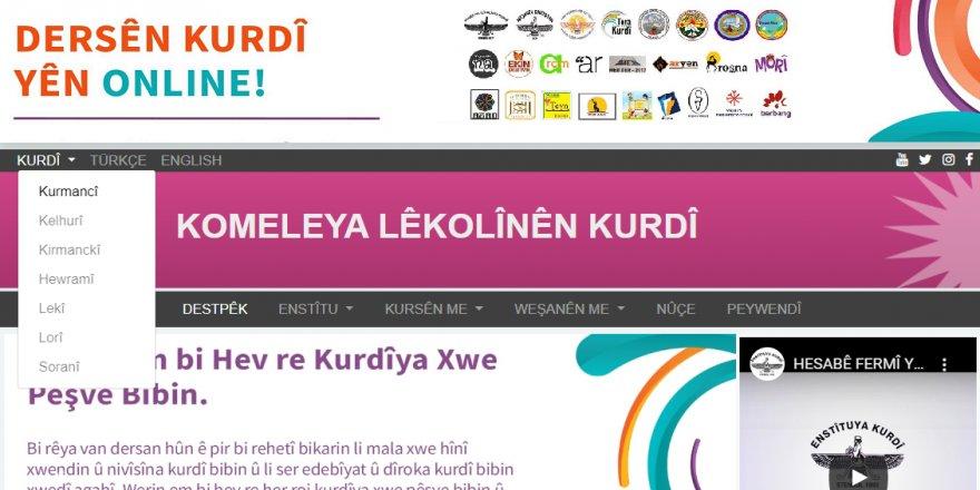 Malpera Enstîtuya Kurdî bi hemû zaravayan dest bi weşanê kir