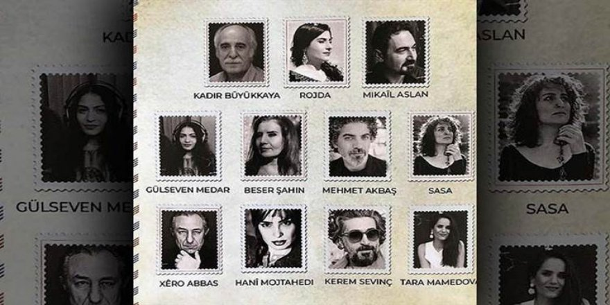 Ji hunermendên her çar perçeyên Kurdistanê albûmeke Zazakî: Vengê Royî