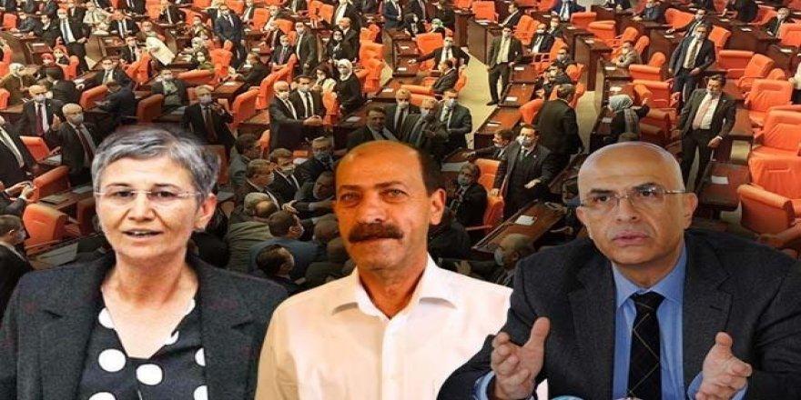 Parlamenterîya 3 parlamenteran hat betalkirin