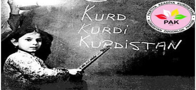 'Divê em fêrbûn û axaftina zimanê Kurdî wek prensîbeke esasî di jiyanê de pêk bînin'