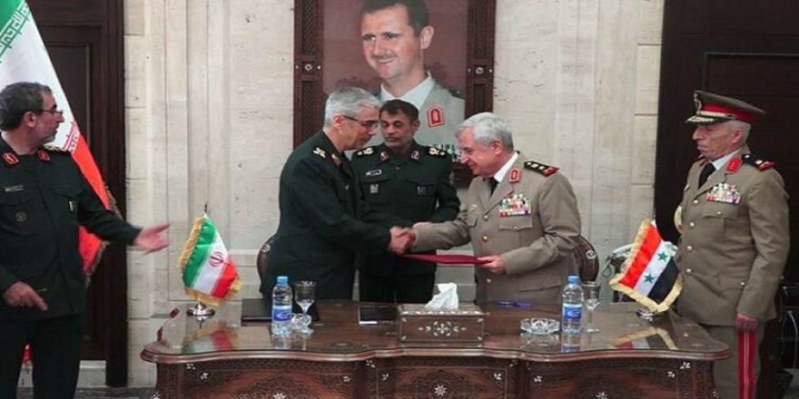 Îran û Sûrîyê rêkeftineke serbazî îmze kirin