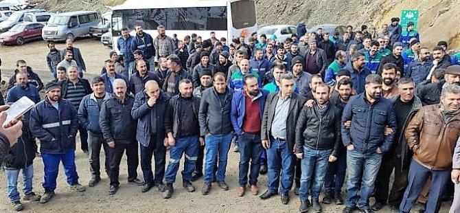 Sêrt-Xizxêr: 216 karkirên madenê ji kar hatin dûrxistin