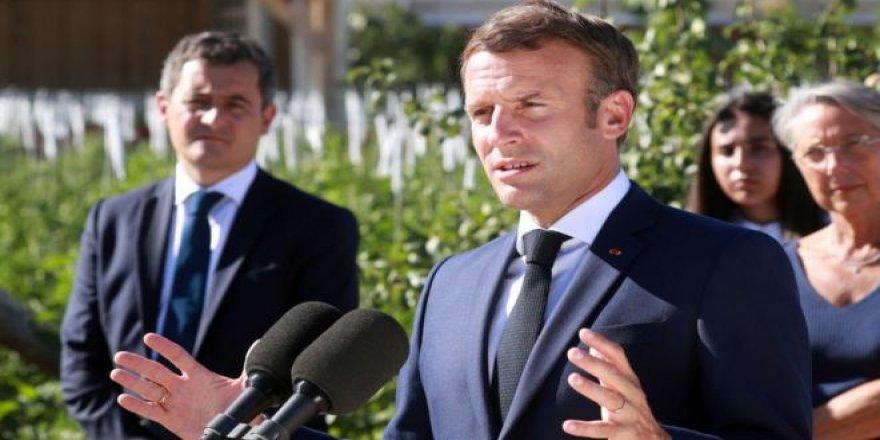 Macron dîsa Tirkîye kir armanc: Divê were cezakirin