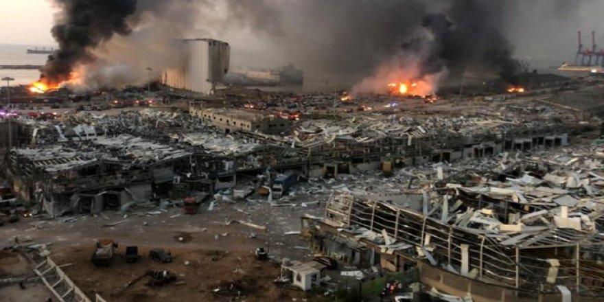 Li Beyrutê teqîn:Herî kêm 100 kes mirine