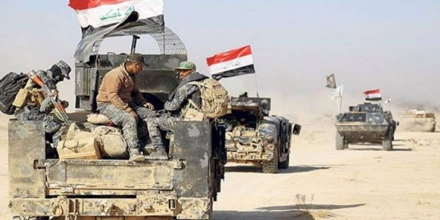 Iraqê hêzeke mezin şand ser sînor
