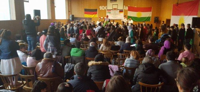 Almanya: Newroza Serxwebûnê li Schweinfurtê li dar ket!
