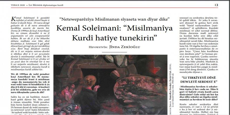 Hejmara Nû ya Le Monde Diplomatique Kurdî derket