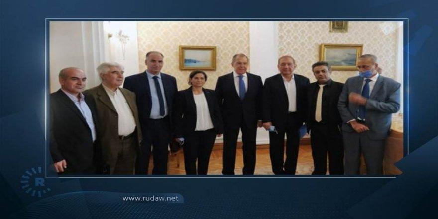 Şanda Rojavayê Kurdistanê li Moskowê bi Sergey Lavrov re civîya