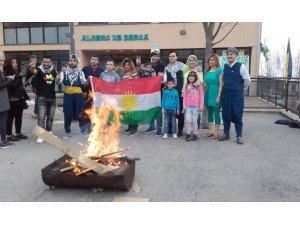 Li Katalonyayê şeva Newrozê