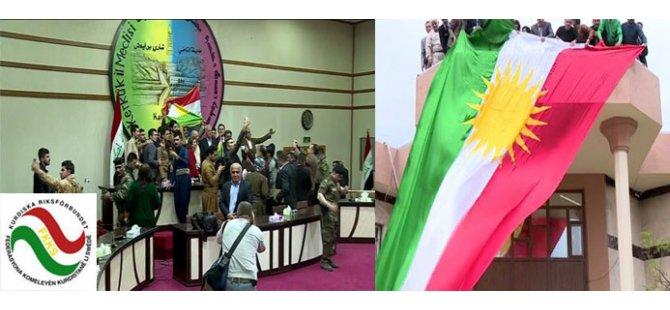 """FKKS: """"Kerkûk dilê Kurdistan e; biryara pîroz, pîroz be"""""""