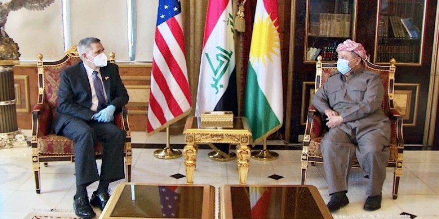 Serok Barzanî bi şanda Amerîkî re civiya: Li Amerîkayê cihekî taybet û girîng ê Kurdistanê heye