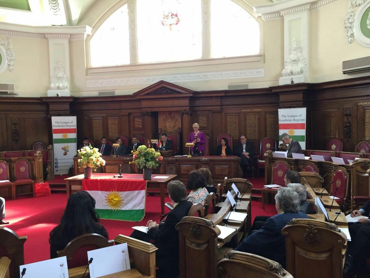 Li Londonê konferansa Yekîtiya Herêmên Kurdistanê