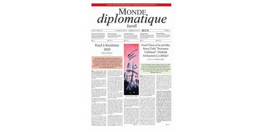 Hejmara 55an a Le Monde diplomatique kurdî derket!!!