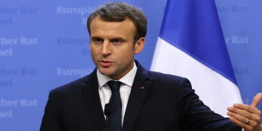 Macron: Me ji Tirkiyeyê peyamnek vekirî şand