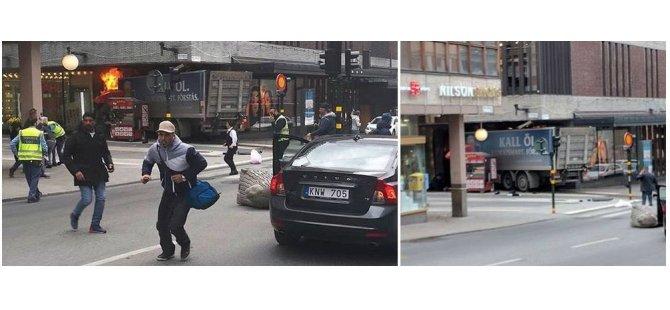 Li navenda Stockholmê kiryara terorîsti; mirî û birîndar hene