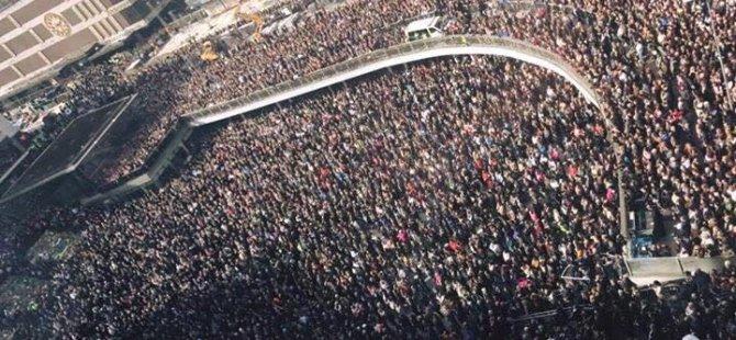 """Stockholm: """"Evîn ji terorê bi hêztir e"""""""