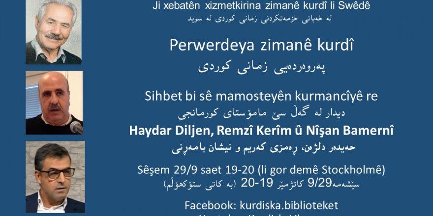 Perwerdeya zimanê kurdî li Swêdê
