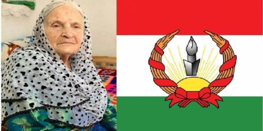 Xanima ku alaya Kurdistanê bi destê xwe çêkiribû, koça dawî kir