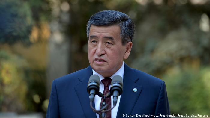 Serokomarê Qirgizistanê Sooranbai Jeenbekov Îstîfa kir