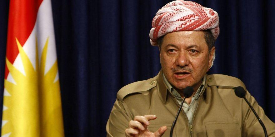 Peyama Serok Barzanî li ser şewitandina avahiya PDKê û Ala Kurdistanê