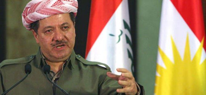 """Barzanî: """"Ew sedsale ji bo yekîtîya Iraqê xebitîne, lê tenê zilm dîtine"""""""