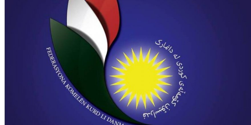 Federasyona Komelên Kurd li Danmarkê:  Em êrîşa  li ser Ala Kurdistanê bi tundî şermizar dikin
