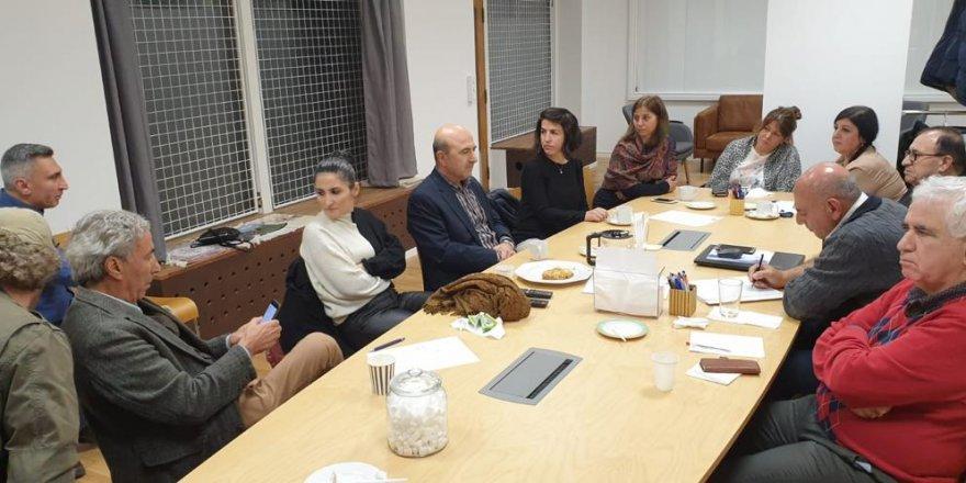 PAK-Swêd Komîteya nûhilbijartî ya Federasyonê ziyaret kir